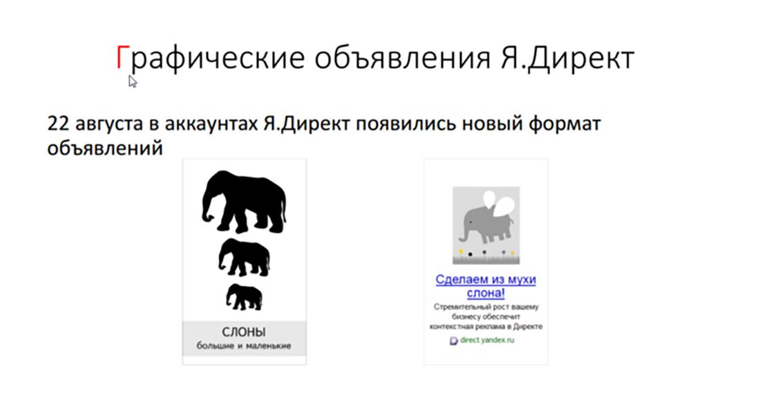 Яндекс Диркет: графические объявления – наглядное преимущество